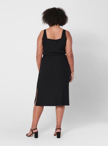 Čierne šaty ONLY CARMAKOMA Sophia