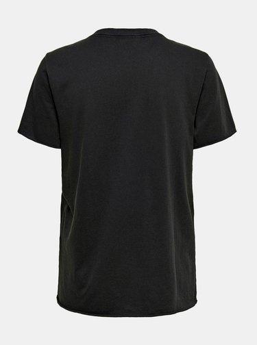 Černé tričko ONLY Amanda