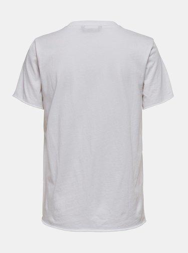 Biele tričko ONLY Amanda