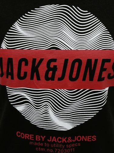 Čierne tričko Jack & Jones Geek