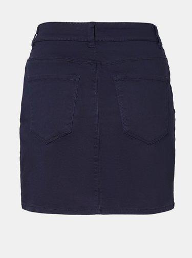 Tmavomodrá sukňa VERO MODA Hot