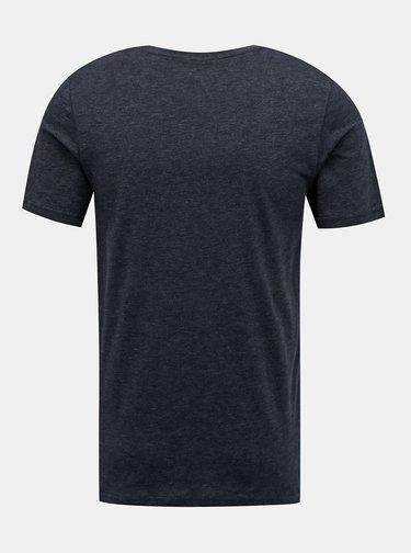 Tmavě modré tričko Jack & Jones Carlos