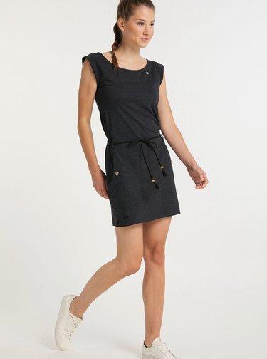 Čierne šaty Ragwear Tag
