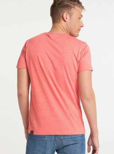 Růžové pánské tričko Ragwear Nedie