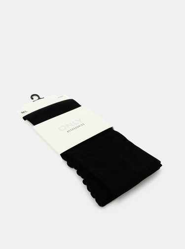 Černé punčochové kalhoty ONLY