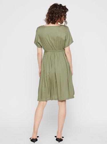 Zelené těhotenské šaty Mama.licious Mariet