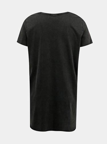 Černé dlouhé tričko ONLY CARMAKOMA Ness