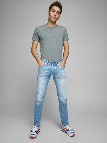 Slim fit pentru barbati Jack & Jones - albastru deschis