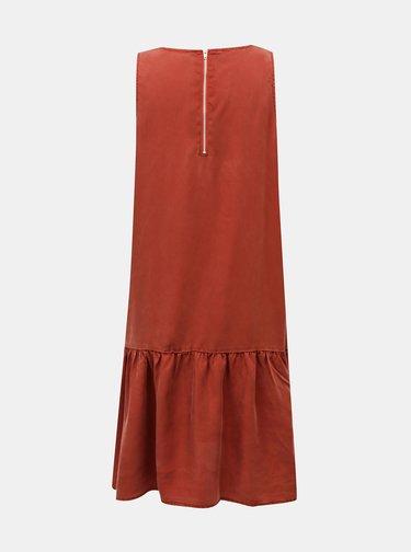 Hnědé šaty Noisy May Milia