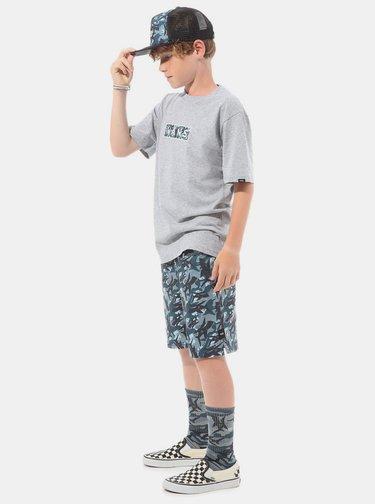 Šedé chlapčenské tričko VANS