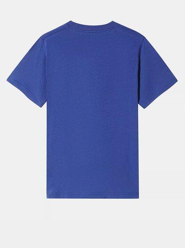 Modré klučičí tričko s potiskem VANS