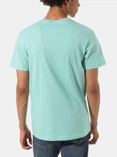 Tyrkysové pánské tričko s potiskem VANS