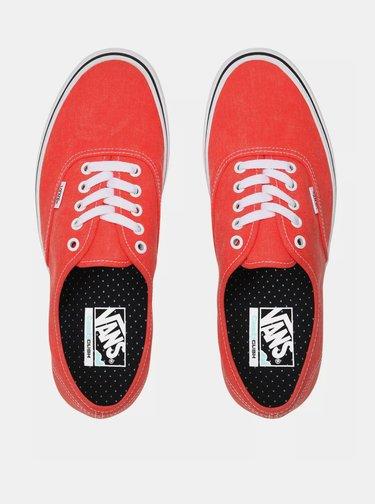 Červené dámske tenisky VANS