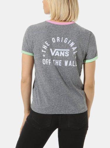 Šedé dámske tričko VANS