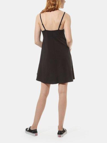 Čierne dámske šaty VANS
