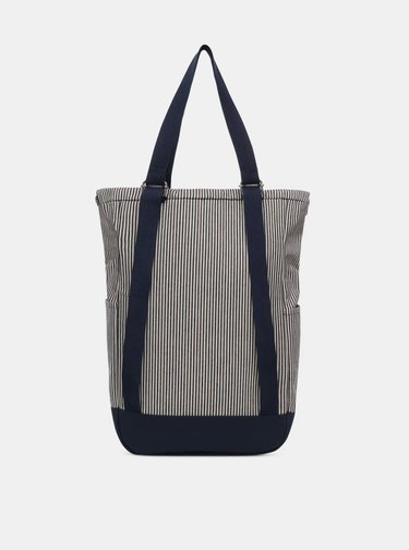 Tmavě modrý pruhovaný batoh VANS 22 l
