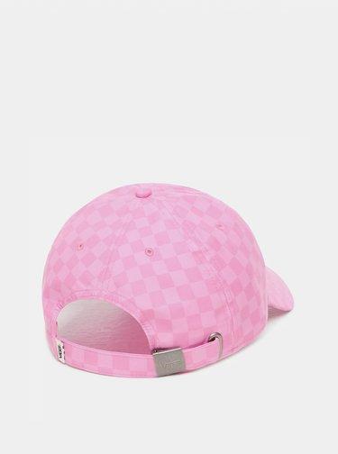 Růžová dámská kšiltovka VANS