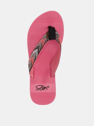 Ružové dámske žabky SAM 73