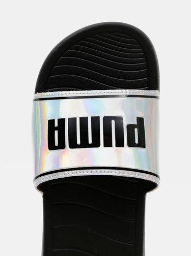 Holografické dámske šľapky Puma