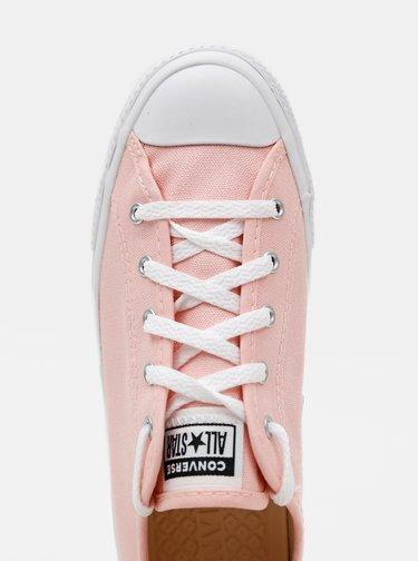 Ružové dámske tenisky Converse Chuck Taylor All Star Dainty