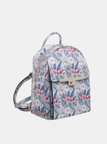 Bílý vzorovaný batoh Bessie London