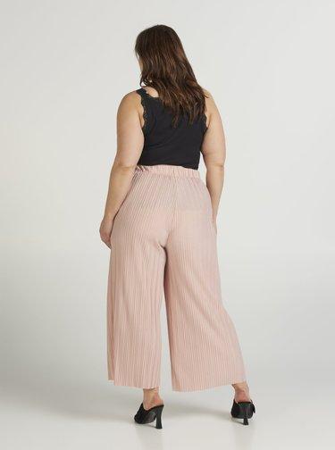 Ružové culottes Zizzi