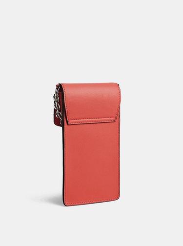 Červené dámske púzdro na telefón Calvin Klein Jeans