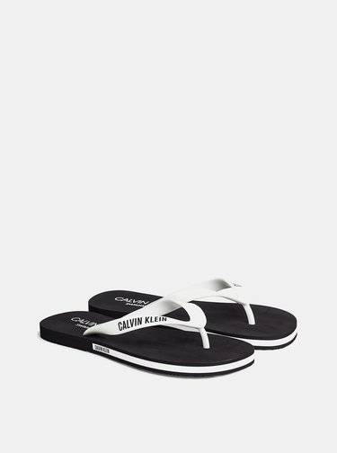 Bílé pánské žabky Calvin Klein Underwear