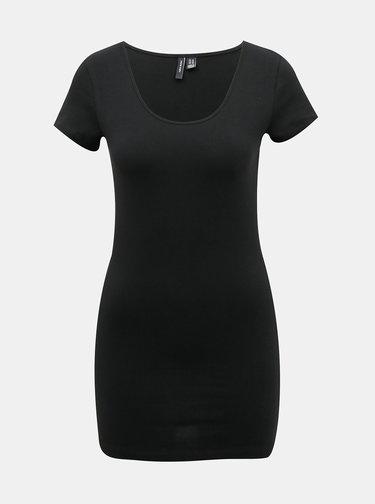 Sada dvoch basic tričiek v bielej a čiernej farbe VERO MODA Maxi