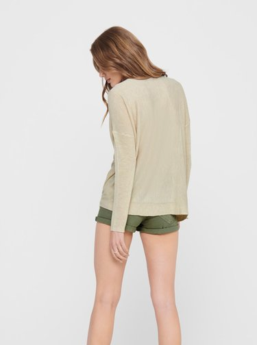 Béžový ľahký sveter Jacqueline de Yong Druna