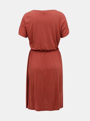 Tehlové šaty VERO MODA Donna