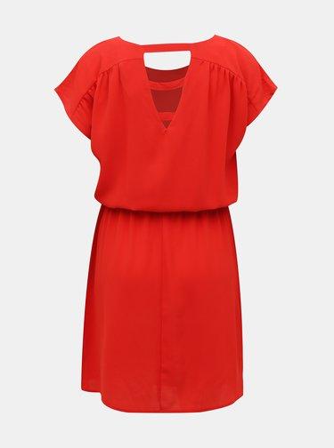 Červené šaty VERO MODA Sasha