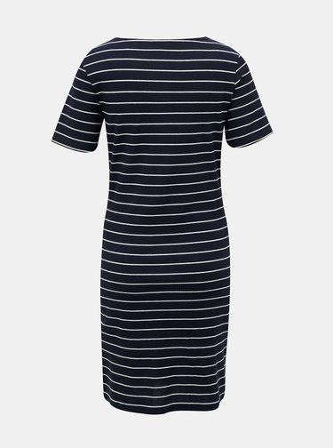 Tmavomodré pruhované šaty Jacqueline de Yong Nevada