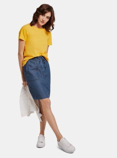 Modrá dámská džínová sukně Tom Tailor