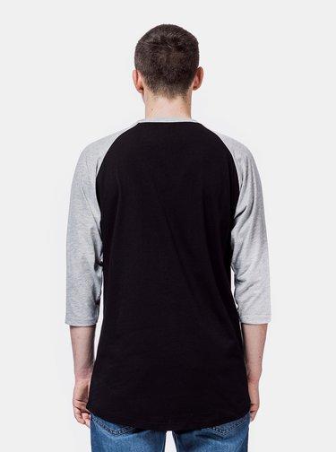 Čierne pánske tričko Horsefeathers