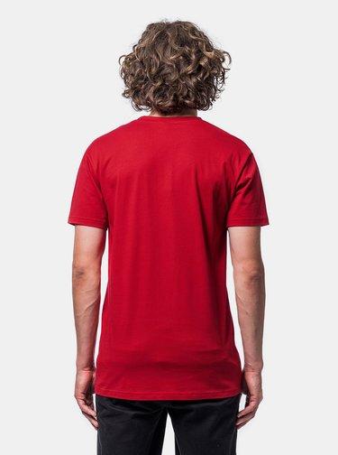 Červené pánske tričko Horsefeathers
