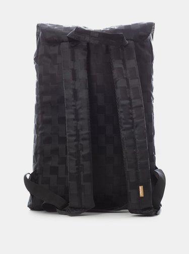 Černý kostkovaný batoh Spiral