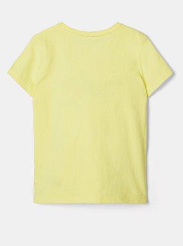 Žluté holčičí tričko name it Hailee