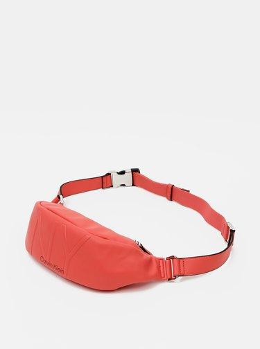 Borsete pentru femei Calvin Klein Jeans - rosu