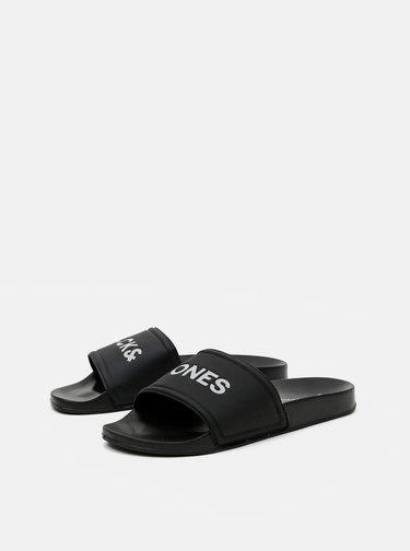Černé pantofle Jack & Jones Larry