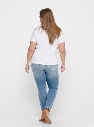 Bílé tričko ONLY CARMAKOMA California
