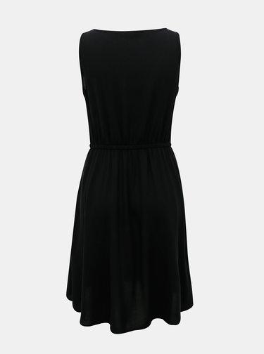Čierne basic šaty ONLY Nova
