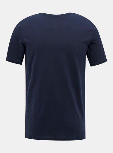 Tmavě modré tričko Jack & Jones Luciano
