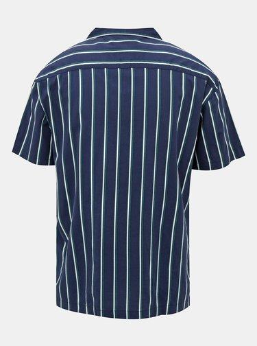 Tmavomodrá pruhovaná košeľa Jack & Jones Blastripe