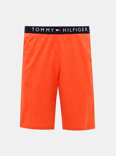 Oranžovo-modré pánské pyžamo Tommy Hilfiger