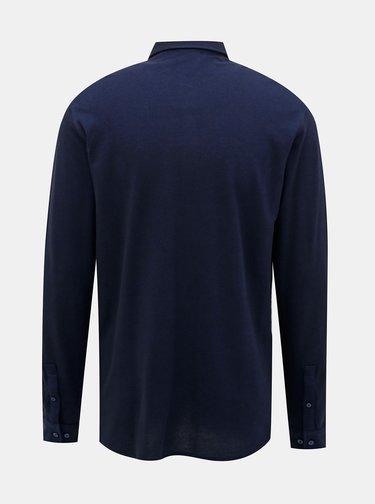 Tmavomodrá košeľa Jack & Jones