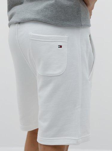 Bílé pánské teplákové kraťasy Tommy Hilfiger