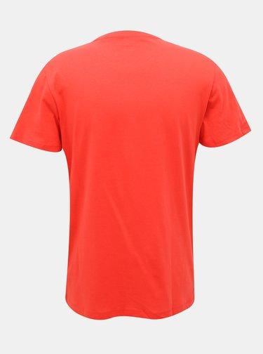 Červené tričko Jack & Jones Star