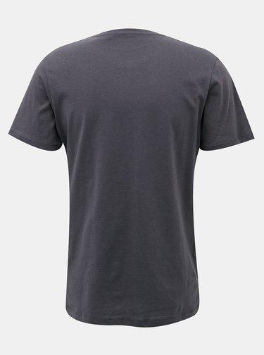 Šedé tričko Jack & Jones Baja
