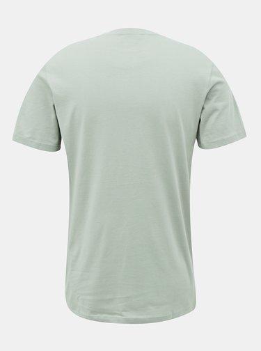 Světle zelené tričko Jack & Jones Torino